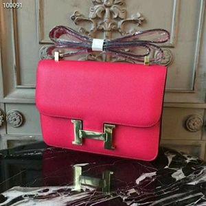 Hermes genuine leather handbags